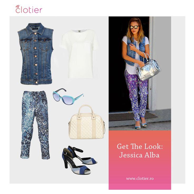 Get The Look: Jessica Alba ‹ Clotier