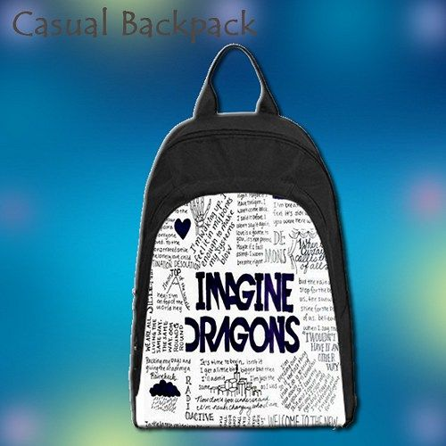 Imagine Dragons Cover, school bag, Backpack