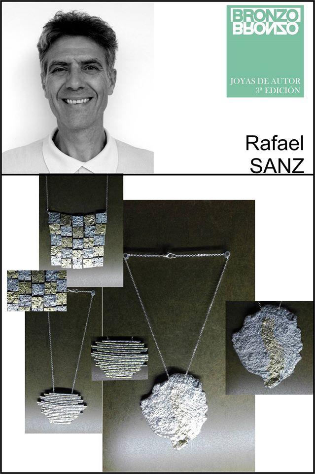 Homenaje a Paco Rabanne, Sin título y Lava. Aluminio y Oro de 22 kilates