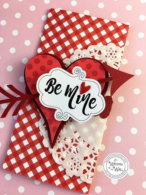 These Valentine's Day candy bar wraps are available now in red and black!