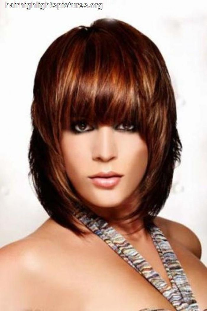 mahogany hair color with highlights submited images pic 2