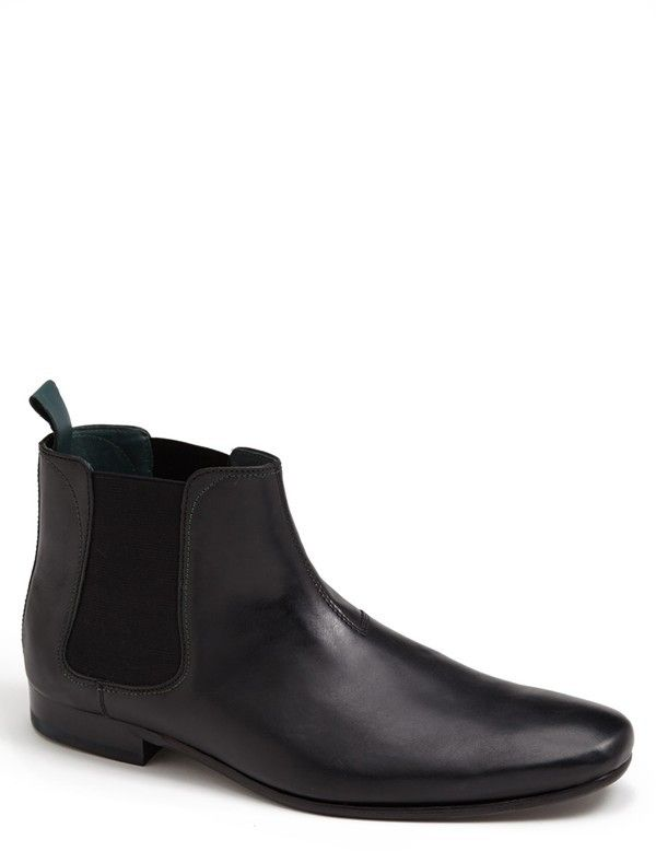 $185, Ted Baker London Buurg Chelsea Boot. Sold by Nordstrom. Click for more info: https://lookastic.com/men/shop_items/3215/redirect