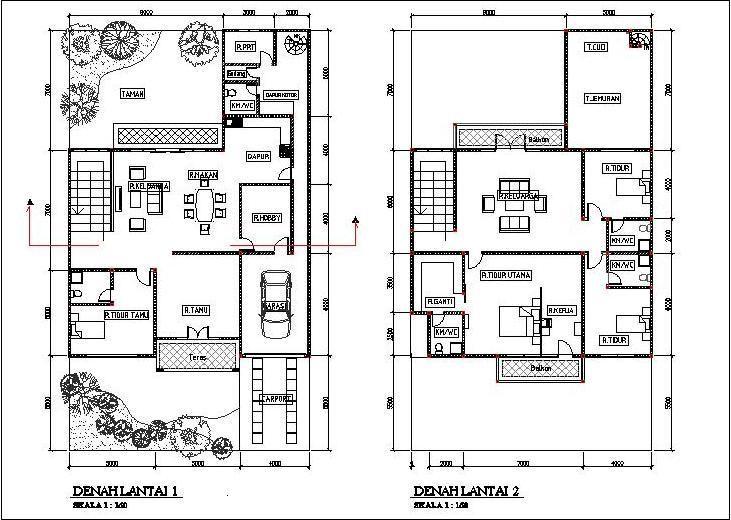 11 best desain arsitektur org images on pinterest architecture layout dari gambar merencanakan desain rumah 2 lantai gambar 1 ccuart Gallery