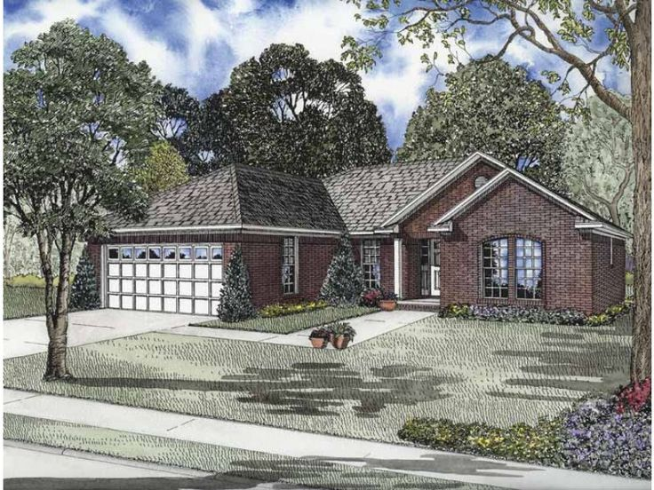 1000 Ideas About Brick Ranch Houses On Pinterest Brick