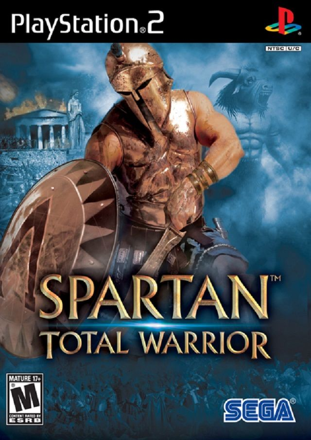 Spartan Total Warrior Sony Playstation 2 Game