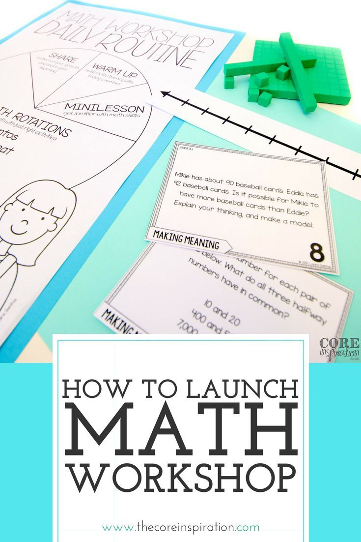 How To Make The First Week Of Math Workshop A Success Math