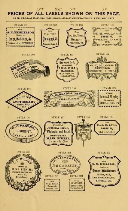 Vintage Label......