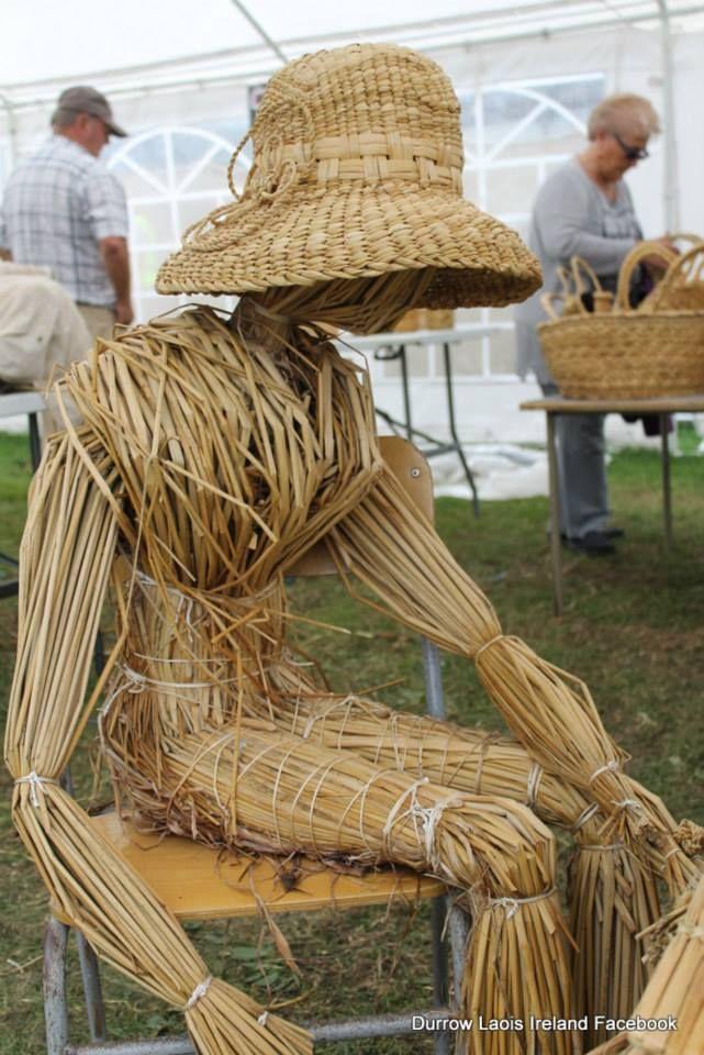 Scarecrow at The Durrow Laois Ireland Scarecrow Festival