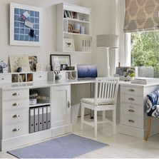 Need a corner desk to take all the work that's coming your way? Our modular range can be adapted to suit your needs. Find all our home office furniture here: http://www.thedormyhouse.com/catalogue/home-office