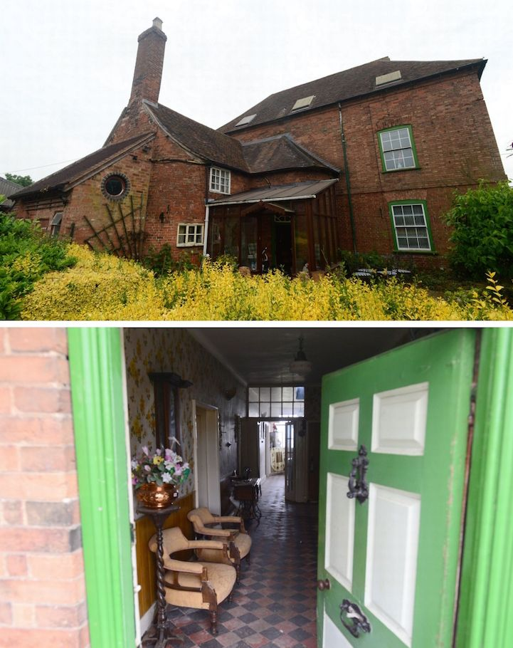 English Farmhouse Left Frozen In Time Since The 1940s