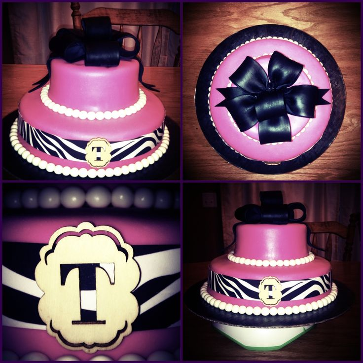 Pink Th Birthday Cakes