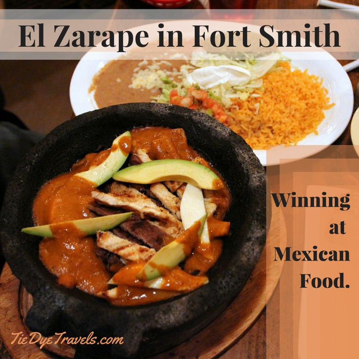 Want something more from a Mexican restaurant?  El Zarape in Fort Smith is winning at making great food. #arkansasfood  El Zarape is Winning at Mexican Food in Fort Smith. | Tie Dye Travels with Kat Robinson