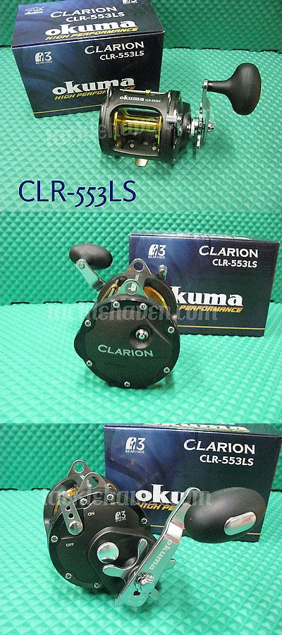 Other Fishing Reels 166159: Okuma Clarion High-Speed Levelwind Trolling Reel Clr-553Ls 6.2:1 Gear Ratio BUY IT NOW ONLY: $119.95
