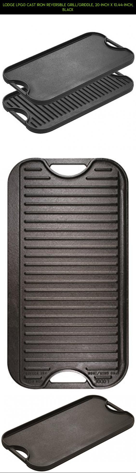 Lodge LPGI3 Cast Iron Reversible Grill/Griddle, 20 Inch X 10.44 Inch