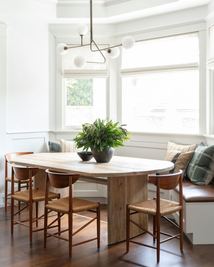 Client West Coast Is The Best Coast Breakfast Nook Table Modern