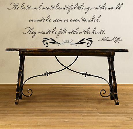 Beautiful Things!: Decor Ideas, Helen Keller Quotes, Wall Quotes, Image, Wall Decals Quotes, Favorite Quotes, Beautifulwalldec Com, Beautiful Things, Quotes Wall Decals