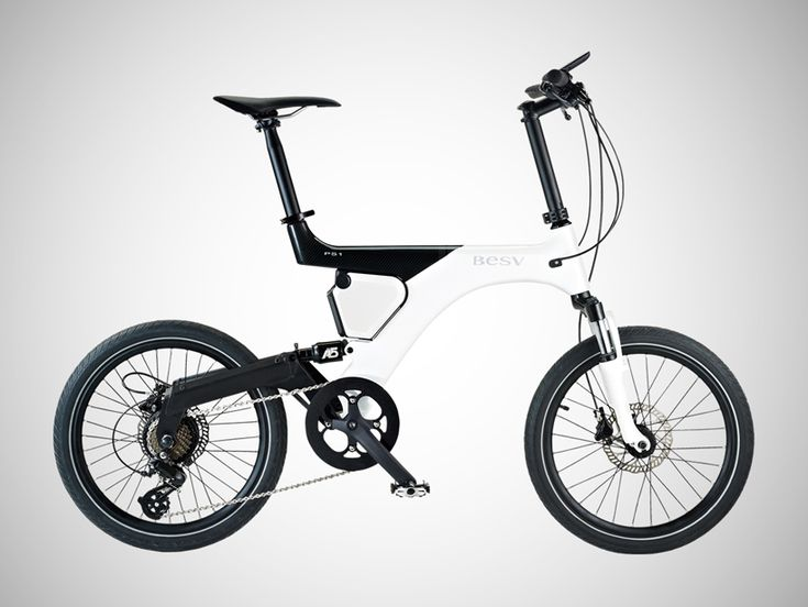 carbon fiber BESV panther PS1 is the lightest commuter electric-bike