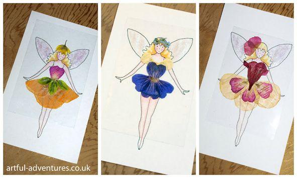 Flower Fairy Fashion Show: