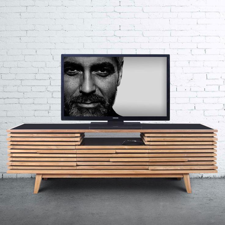 Strip TV Kabinet ini menggabungkan gaya dari furniture skandinavian pada abad pertengahan dan penggabungan dari sentuhan yang modern. Memiliki slatted yang tegas, pola yang bergaris, dengan desain berlapis memberikan tekstur untuk mata agar tetap enak dipandang. Terbuat dari kayu jati dan diproduksi dengan integritas, kabinet yang sangat fungsional dengan 5 laci dan slot untuk DVD atau Playstation. Tersedia juga satu set furnitur yang didesain sama dengan kabinet ini, dekorasi ulang ruang…