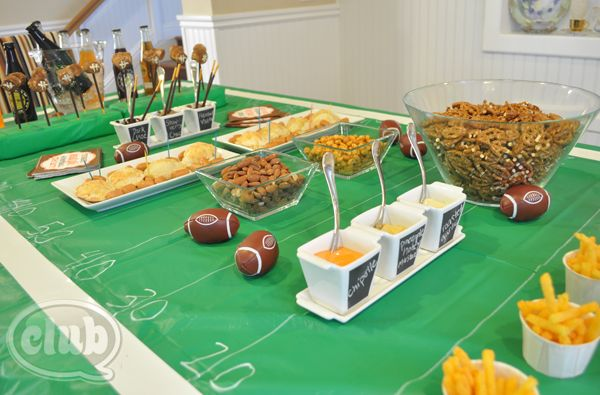 Football Party Ideas with Cost Plus World Market - Club ChicaCircle >> #WorldMarket
