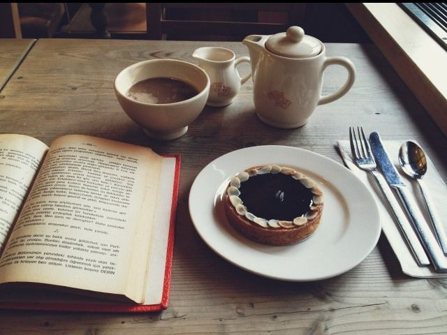 coffee and books just go together