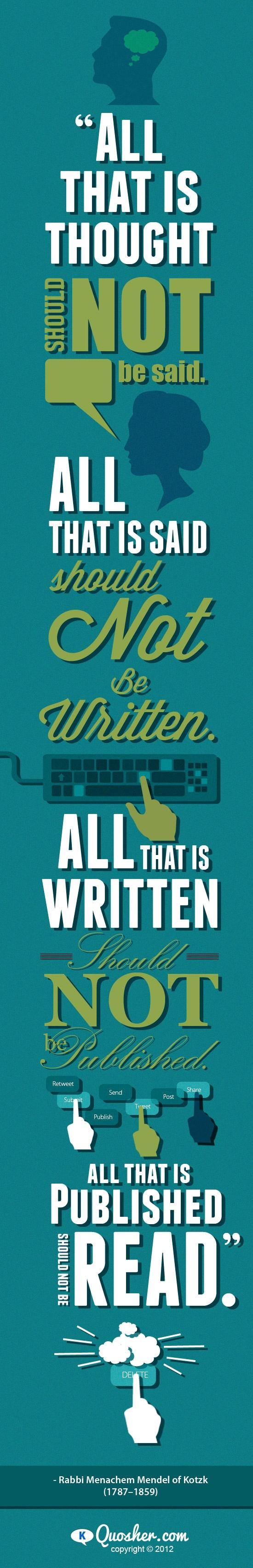 Wisdom for the digital age.