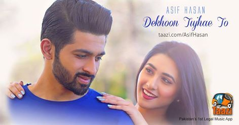 Presenting the LOVE ANTHEM of this summer, Rus Malai se bhi delicious and sweet track #DekhoonTujheToh by Asif Hasan: http://taazi.com/dekhoon-tujhe-toh-by-asif-hasan DhoomBros #HumKahanChalDiye #OST #Love #PakistaniMusic