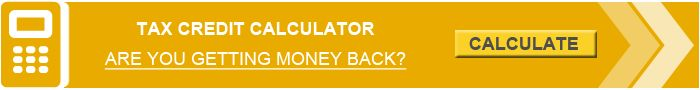 Tax Credit Calculator. Are You Getting Money Back?