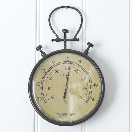 Large retro thermometer - £19.50