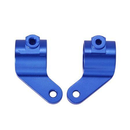 Golden Horizons Steering Blocks, Blue: ST/VXL, GHH02125 by Golden Horizons Ent. Co., Ltd. $15.12. Aluminum Steering Block (Blue) for Traxxas Rustler/Slash/Stampede.? Replaces the stock nylon steering block, part TRA3736/3636X/3636A.. Save 37% Off!