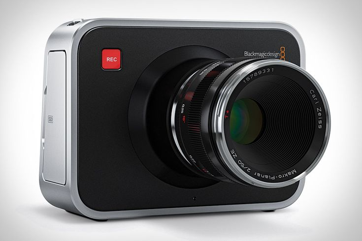 Blackmagic Cinema Camera    Sure, if you've bought a DSLR in the last couple of years, odds are it can record video. But thanks to its built-in video compression, the results might not be what you're looking for — and if so, you might want to try the Blackmagic Cinema Camera...