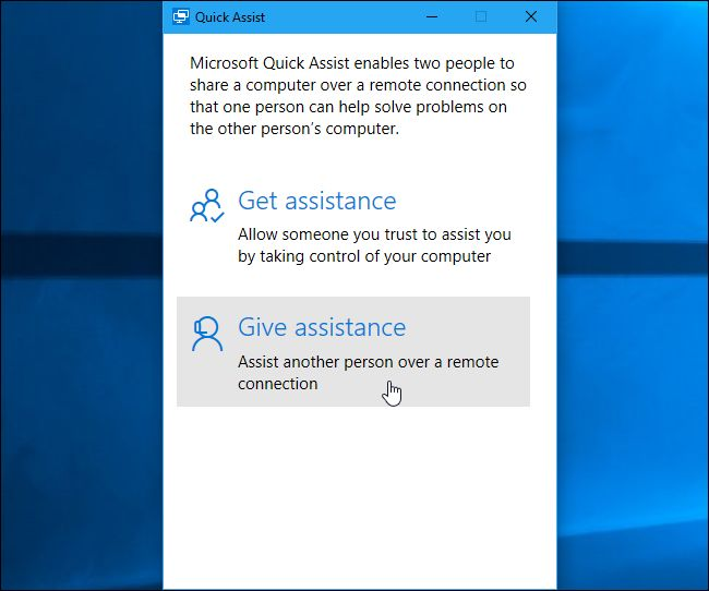 Windows offers a few built-in tools for performing remote assistance over the Internet.These tools allow you to take remote control of another person's computer so you can help them troubleshoot it while you're on the phone with them. They work similarly toRemote Desktop, butareavailable on all editionsof Windows and are easyto set up.