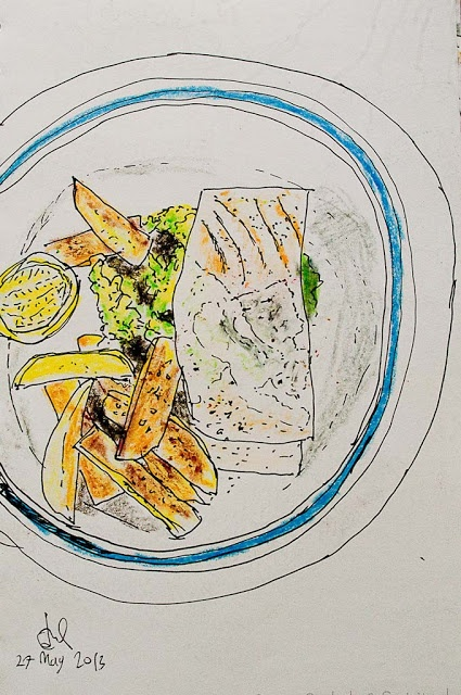 More Food Drawings (in color) | yummy with me
