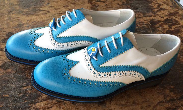 #Raimondi #raimondigolfshoes ⛳️🏌🏌️♀️👞#golf #shoes #golfshoes #italianstyle #handmadeinitaly #italy #originali #madeinitaly
