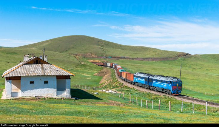 RailPictures.Net Photo: Mongolian Railway 2TE116UM at Khairkhan, Mongolia by Temuulen.B