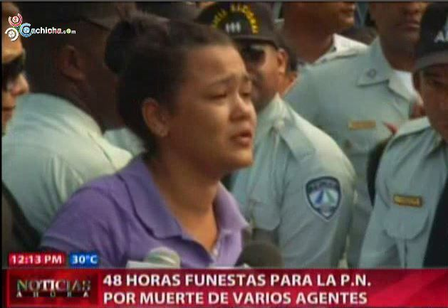 48 Horas Funestas Para La Policia Por Muerte De Varios Agentes En Manos De Delincuentes #Video