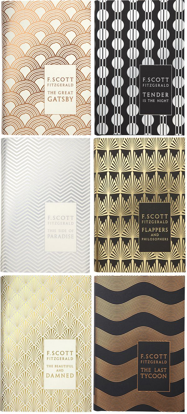 F. Scott Fitzgerald's hardcover backlist, designed by Coralie Bickford-Smith