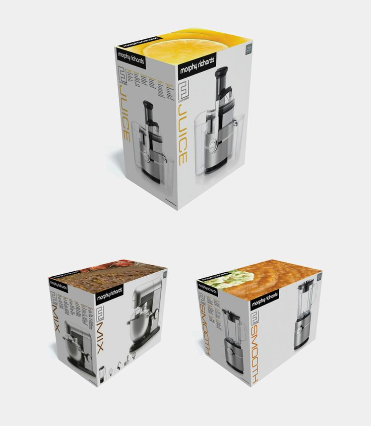 Packaging design for Food Fusion, designed to inject new life into a kitchen appliance range from Morphy Richards. #Packaging http://www.foundrycomms.co.uk/work/morphy-richards-food-fusion/