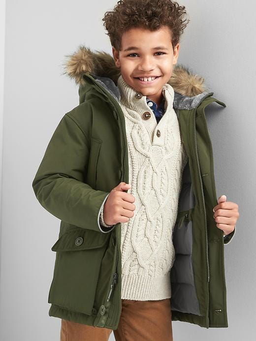 If it's chilly, this army green jacket is a great popover and goes with anything.  Think of army green as a neutral.