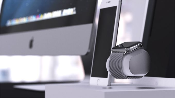 The only levitating system that wirelessly charges your Apple Watch or Pebble…