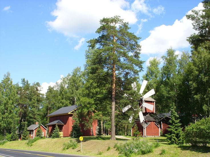 My grandfather's hometown, Jalasjarvi, Finland.  This is the local heritage museum.