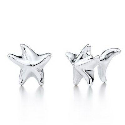 Tiffany And Co Elsa Peretti Starfish Cuff Link #jewellery