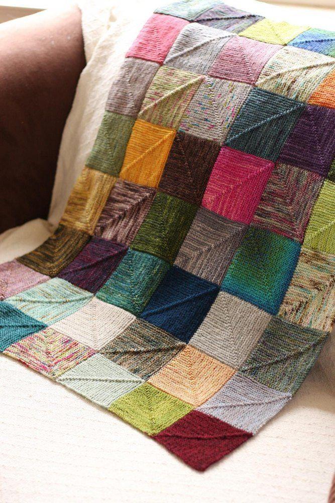 End-less Squares Blanket