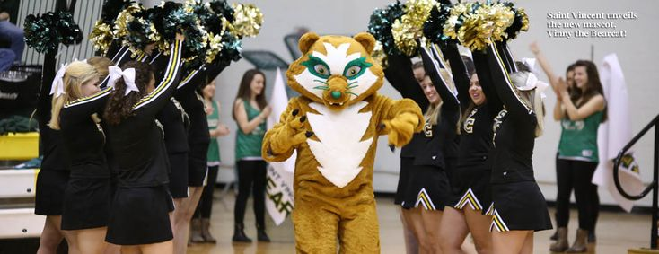 "Introducing the ""New Vinny"", Saint Vincent College's Bearcat"