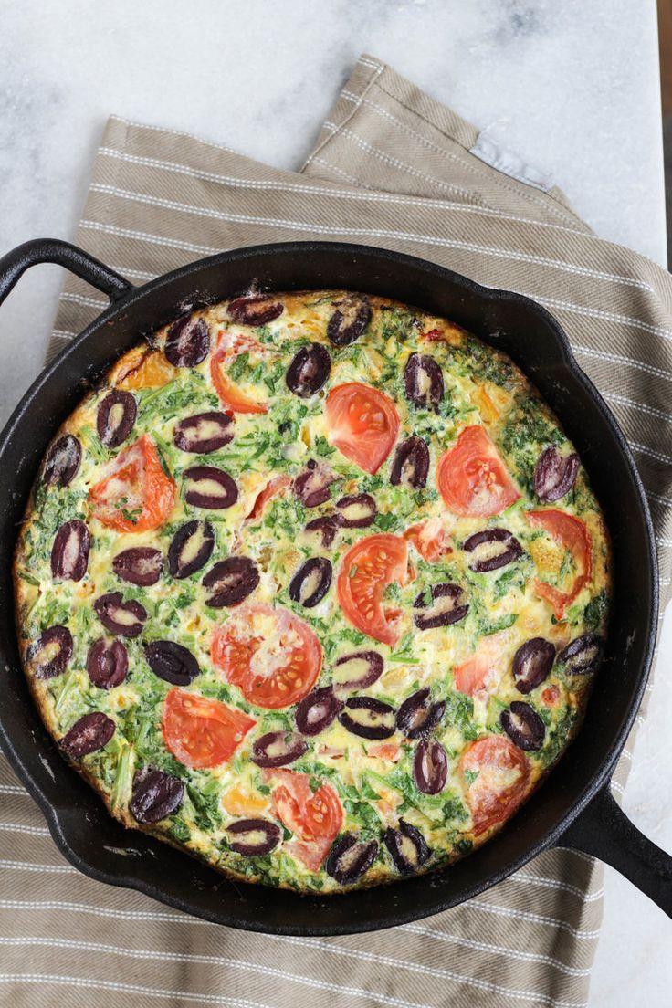 5-Ingredient Mediterranean Frittata by KIKAN BLVD.