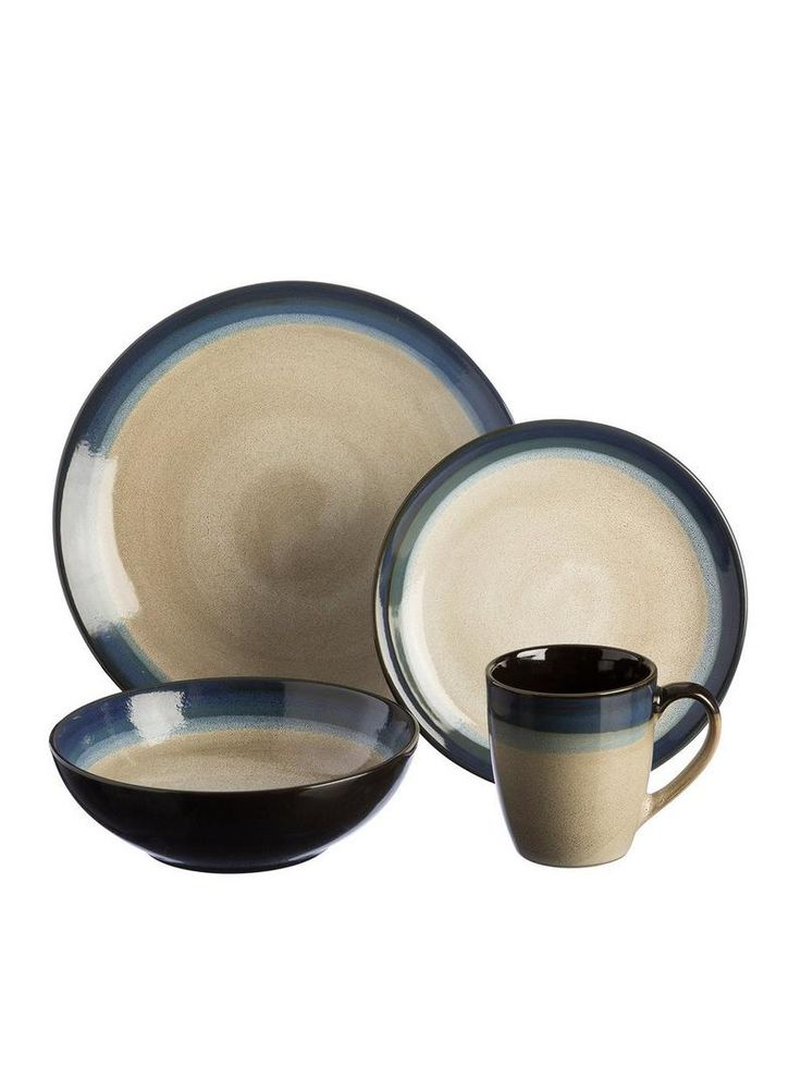 Dine, relax and indulge in earthy tones. Each piece uses a contrast of light and dark colours to create a rich organic feel. Set features 4 dinner plates, 4 side plates, 4 bowls and 4 mugs. Each piece is microwave and dishwasher safeDepth: 310 MMHeight: 310 MMMaterial Content: StonewareWidth: 309 MM