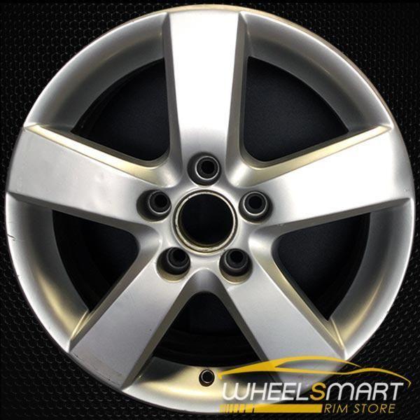 16 Volkswagen Vw Jetta Oem Wheel 2008 2010 Silver Alloy Stock Rim