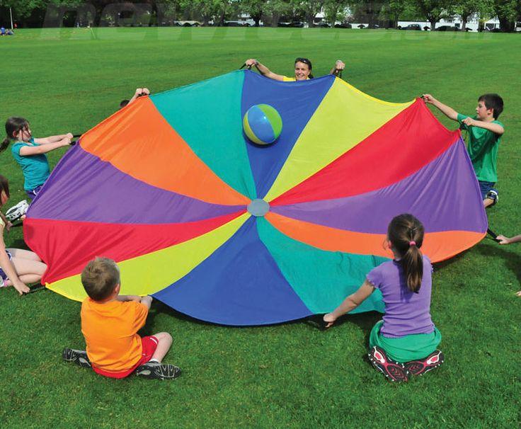 17 Best images about Parachute Games on Pinterest   Beach ball ...