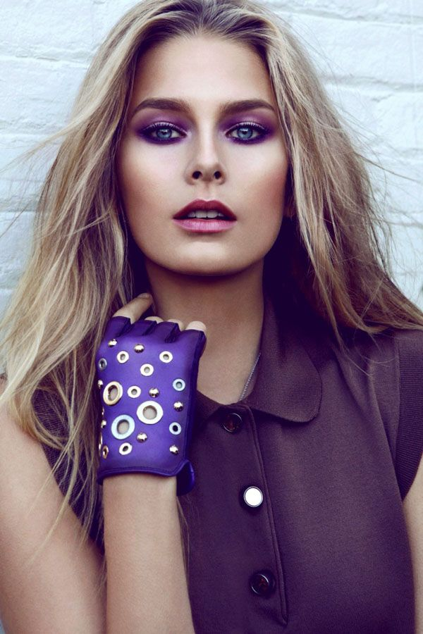 beautiful: Purple Eyeshadows, Branislav Simoncik, Louis Vuitton, She Czech, Covers Shooting, The Faces, Makeup, Czech Republic, It Soukupova