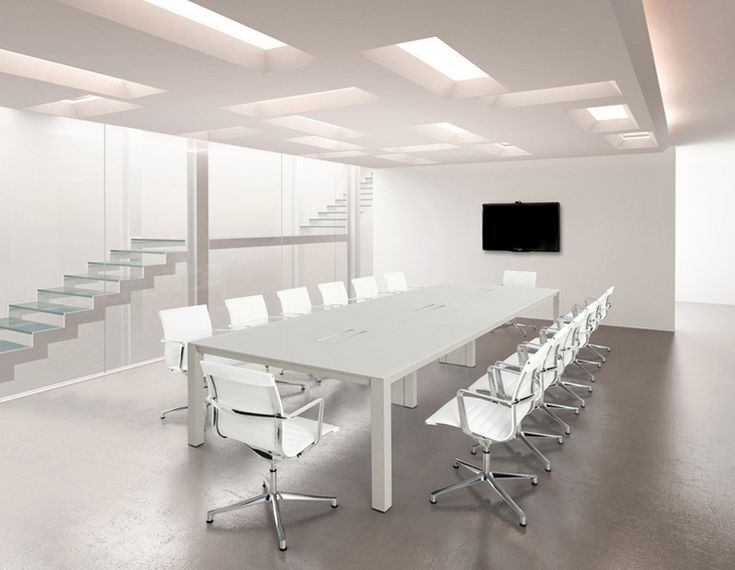 Table de réunion modulaire PQUADRO